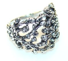 $29.85 Simply Amazing Silver Sterling Silver Ring s. 7 1/4 at www.SilverRushStyle.com #ring #handmade #jewelry #silver #silver