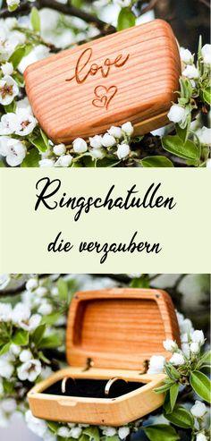 Die persönliche Ringschatulle oder Ringbox für euren großen Tag. Dies ist nur eine von vielen Formen, wovon jede personalisierbar ist und nach euren Wünschen zur Gänze in Österreich gefertigt wird.  Mehr Infos und mehr Produkte für Antrag, Heirat, Hochzeit und Co. findet ihr auf unserer Website.   #4cases #doit4love #hochzeit #ringkissen #ringkissenausholz #ringboxhochzeitholz #holzbox #schmuckbox #ringschatulle #holzschatulle #schmuckschatulle #ehering #ringverlobung #ringkissenholz Simple Pictures, Most Beautiful Pictures, Ring Bearer Outfit, Marriage Proposals, Ring Designs, More Fun, Sunglasses Case, About Me Blog, Presents