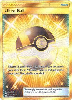 x1 Ultra Ball  161/149  Secret Rare Pokemon Sun & Moon Base Set M/NM