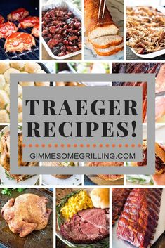 - Gimme Some Grilling ® - Tons of easy Traeger recipes for yo. – Gimme Some Grilling ® – Tons of easy Traeger recipes for your wood pellet - Traeger Smoker Recipes, Traeger Bbq, Pellet Grill Recipes, Barbecue Recipes, Grilling Recipes, Pellet Smoker Brisket Recipe, Smoked Meat Recipes, Grilling Tips, Healthy Grilling