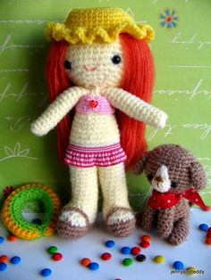 This is so cute! I'm trying to win this pattern.