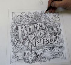 Incredible Born & Raised Album Cover Created by David Smith (Process Pictures and Video