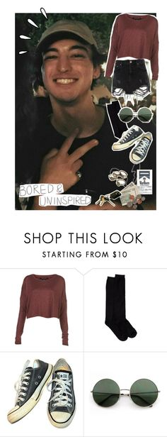 """""""Searching for a reason why • Joji Miller •"""" by oh-my-cashtael ❤ liked on Polyvore featuring Old Navy, Shimera, Converse and River Island"""