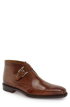 Magnanni 'Raiden' Monk Strap Chukka Boot (Men) available at #Nordstrom