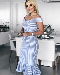 Women's Fashion Vestidos Midi Online Shopping – Chic Me Elisa Cavaletti, Dresses For Work, Summer Dresses, Midi Dresses, Party Dresses, Blazer Dress, Mode Hijab, Online Dress Shopping, Fashion Outfits