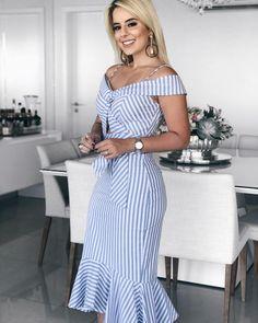 Women's Fashion Vestidos Midi Online Shopping – Chic Me Blazer Dress, Dress Skirt, Bodycon Dress, Elisa Cavaletti, Dresses For Work, Summer Dresses, Midi Dresses, Party Dresses, Mode Hijab