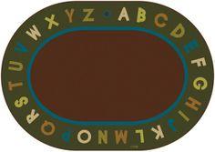 Alphabet Circletime Rug Nature   CFK107XX   Carpets for Kids