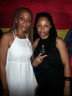 International Reggae Artist Nadine Sutherland & Music Media Management @ Paul Elliott Album Launch - Kingston Jamaica June 2015 ... #medianet55