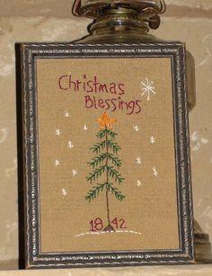 christmas sampler....
