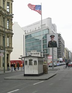 Checkpoint Charlie today in Berlin, Germany