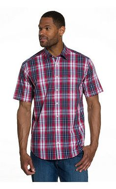 Tommy hilfiger men s shirt our vintage fit shirt in an for Casual button down shirts untucked