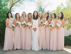 Farm Meets Formal at This Glamorous Wedding in Ojai Formal Dresses For Weddings, Real Weddings, Wedding Dresses, Country Weddings, Amsale Bridesmaid, Bridesmaid Dresses, Pink Bridesmaids, Farm Wedding, Wedding Ideas
