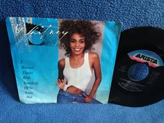 RARE Vintage Whitney Houston  I Wanna Dance With by sweetleafvinyl