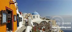 The village of Oia with his typical cycladic architecture, Oia, Santorini…