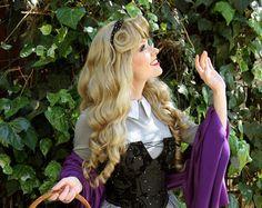 Ariel Little Mermaid Custom Adult Costume Wig by littlepennylane