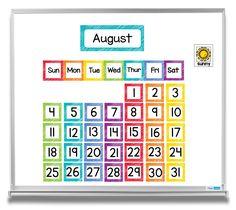 Rainbow themed calendar and weather set. Whole Brain Teaching, Teaching The Alphabet, Kindergarten Activities, Preschool Ideas, Teaching Ideas, Time Activities, Classroom Behavior, Classroom Posters, Teacher Created Resources