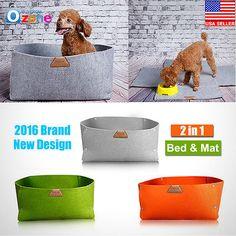 New Pet Dog Cat Mat Cushion Puppy Warm Nest Bed Kennel Soft House Basket