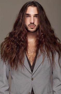 Long Locks, Heavy Metal Bands, Tan Skin, Guy Pictures, Shoulder Length, Hair Inspiration, Braids, Mens Fashion, Long Hair Styles