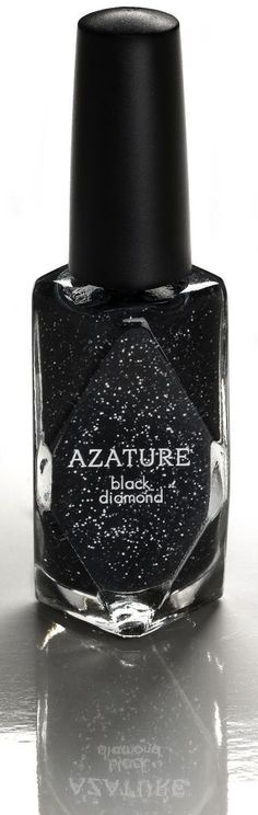 World's most expensive nail polish, contains 267 carats of black diamonds $250,000