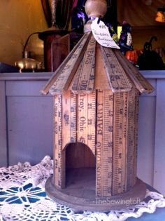 Create stunning home decor and one of a kind pieces with these vintage yardstick DIY ideas! The Sewing Loft