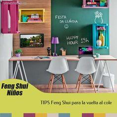Consejos Feng Shui para la vuelta al cole: escritorios, orden, objetos potenciadores, ordenadores, televisión..... Examina lo que debemos o no poner en la habitación infantil de cara a la #vueltaalcole #fengshui #fengshuiniños #decoracininfantil