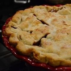 My sister, Carol, makes the best pies in the whole world! Macintosh or Granny Smith apples are the best apples for pies because they're tart, and keep their shape after baking.