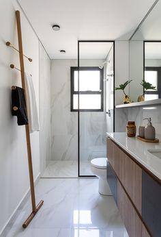 Simple Bathroom Designs, Modern Bathroom Decor, Bathroom Design Luxury, Modern Bathroom Design, Home Room Design, Home Design Decor, House Design, Home Decor, Minimalist Small Bathrooms