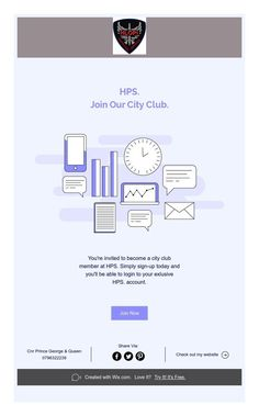 You're invited to become a city club member at HPS. Simply sign-up today and you'll be able to login to your exlusive HPS. Create Website, Youre Invited, How To Become, Join, Invitations, Club, Save The Date Invitations, Shower Invitation, Invitation