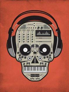 Techno junkie.