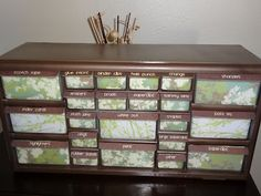 "Teacher Toolbox in soothing greens and browns to match my ""Where the Wild Things Are"" classroom!"