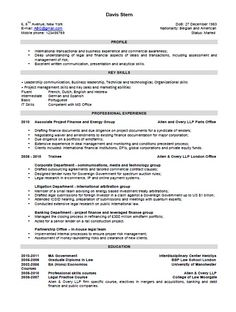 A Sample Combination Resume Using Aspects Of Chronological And
