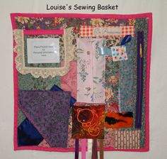 Fidget Lap Quilt Daily Living Aids Restless by LouisesSewingBasket