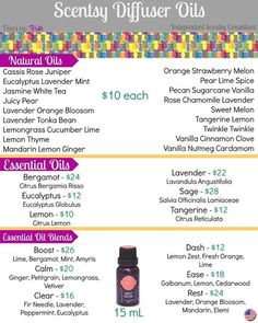 Scentsy essential, natural and essential oil blends for fall and winter 2016. #newreleases #lemon #twinkletwinkle #pearlimespice #pecansugarcanevanilla #ease #scentsbykris