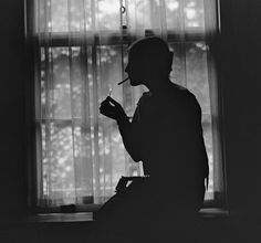 Silhouette Of A Stylish Women Smoking by Everett Historical Photography Women, Couple Photography, Portrait Photography, I Love You Images, Silhouette Photography, Looking Out The Window, Movie Titles, Couple Aesthetic, Women Smoking