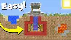 """Minecraft Tutorial: How To Make A Secret Hidden Well Base """"Hidden Base Tutorial"""" Minecraft Logic, Minecraft Secrets, Minecraft Redstone, Minecraft Pictures, Minecraft Room, Minecraft Plans, Minecraft Tutorial, Minecraft Blueprints, Minecraft Creations"""