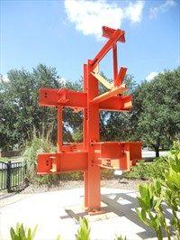 The Original Steel Sculpture by Duane Ellifritt