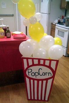 Movie party #Cake