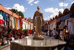 El Parian market, Puebla