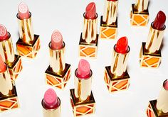 Beautiful shades of Tory Burch lipsticks