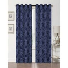 Pauley Best Home Fashion Pleated Tulle Lace Solid Blackout Thermal Grommet Curtain Panels Grommet Curtains Curtains Panel Curtains