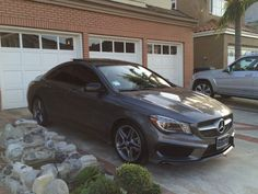 Mercedes CLA Mountain Gray with Night Styling