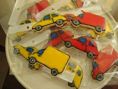 Every little boy needs to have at least one of his birthdays dedicated to cars. Car Cookies, Car Party, Vanilla Essence, Planes, Trains, Birthdays, Engineering, Happy Birthday, Toys