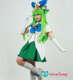 League Of Legends Star Guardian Lulu Cosplay Costume #cosplay #costume #lulu #starguardian