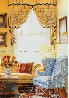 "Diamond and Baratta - I have a photo of these curtains in my ""Soft Furnishings"" notebook. Love them. CSA"