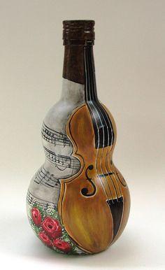 Botella pintada   MercadoLimbo.com