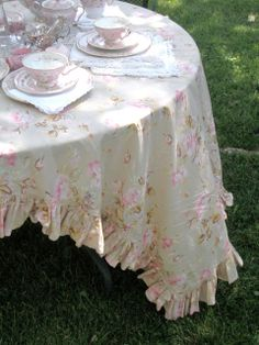 . . . Cabin  Cottage : Lovely Tea Party