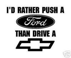 Ford Jokes About Chevy | noticed it didn't pull it UPHILL, so big deal. Any truck can pull a ...