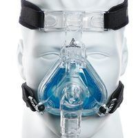 If you've been diagnosed with sleep apnea, you are probably using a CPAP machine and headgear, like the one shown here. CPAP stands for continuous positive airway pressure. The CPAP machine is connected by a long flexible hose to headgear or face mask which you wear every night, all night, while you sleep. A continuous flow of air keeps the airway...