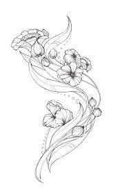 Risultati immagini per flower art nouveau