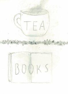 {<3} tea and books